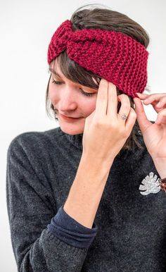 Bandeau tricot acheter