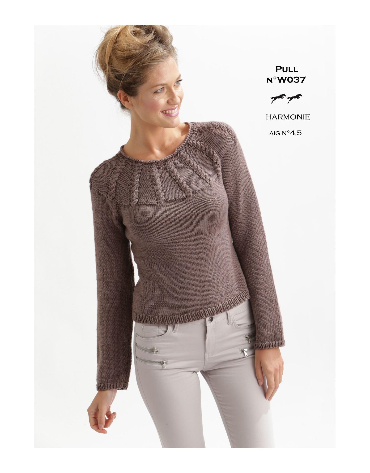 Modele tricot femme aiguille 3 5