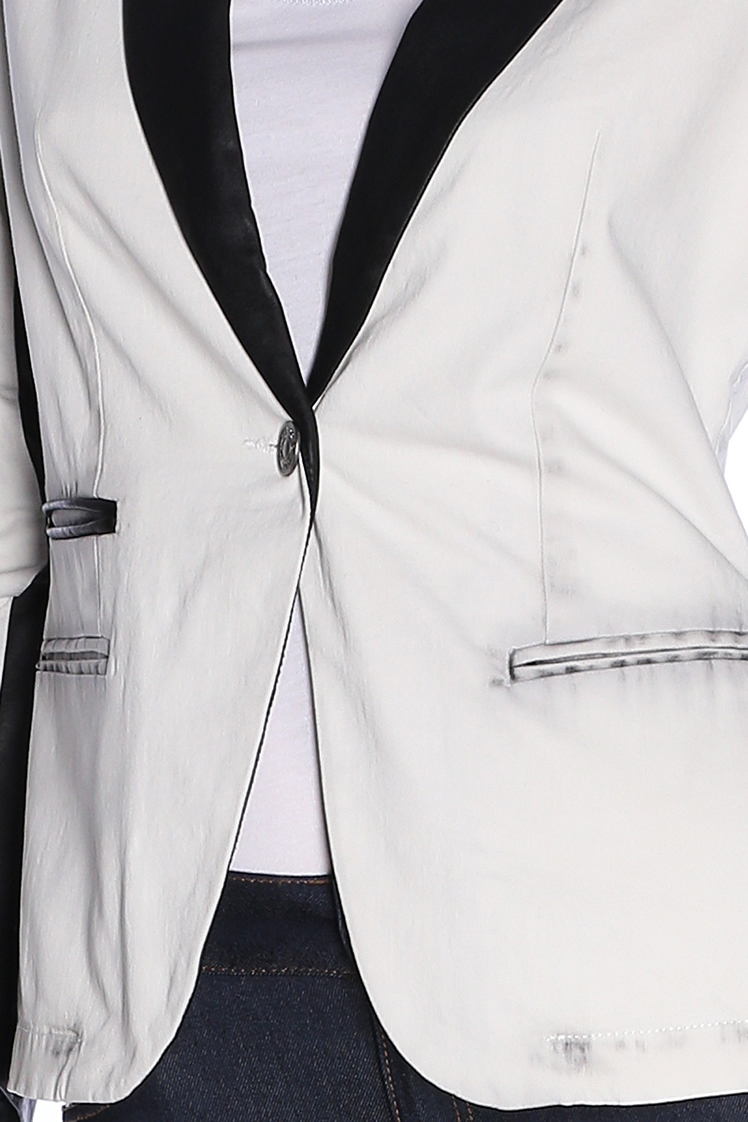Veste blanche kaporal femme