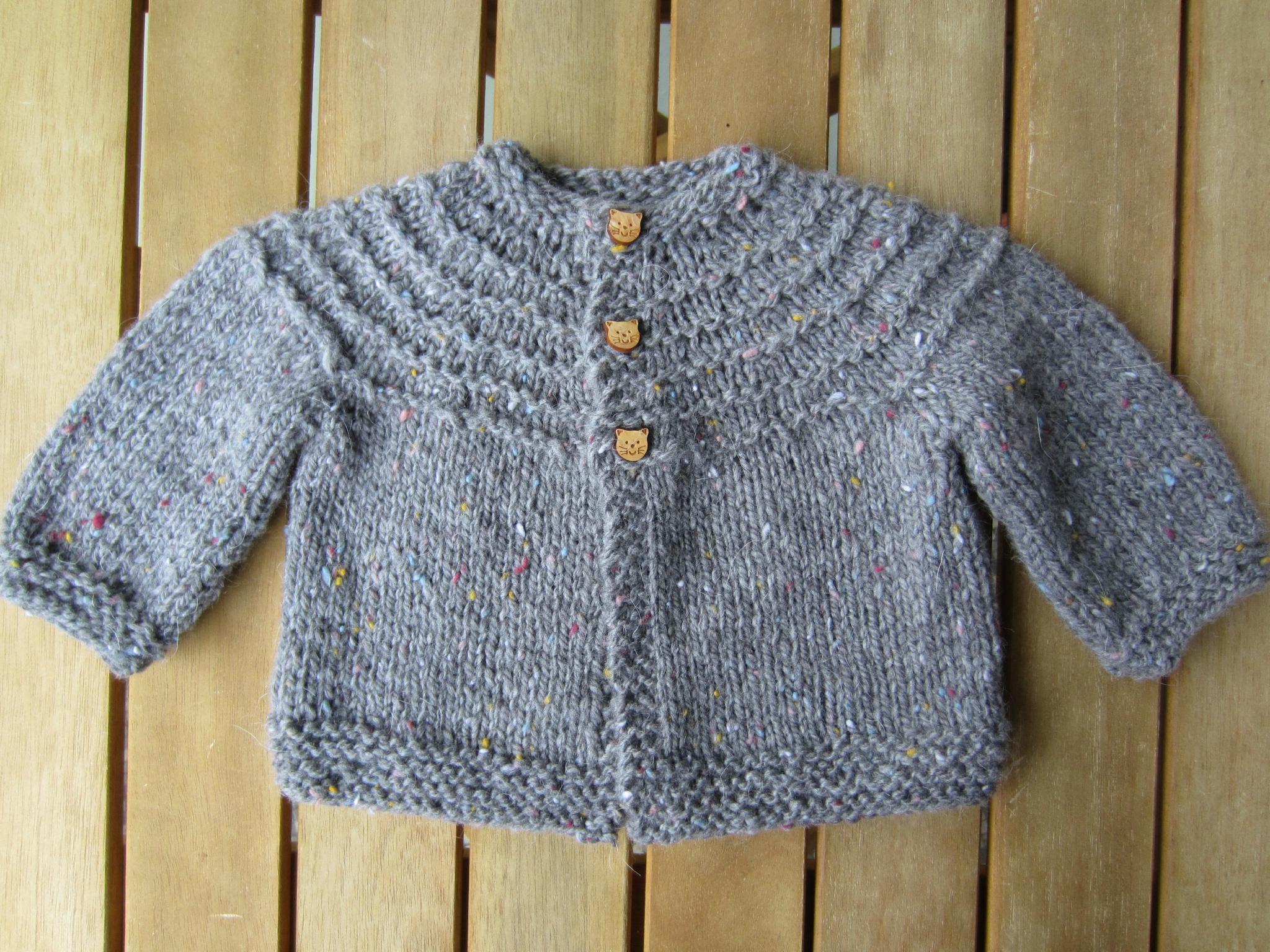 Layette garcon a tricoter