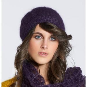 Tricot bonnet mohair