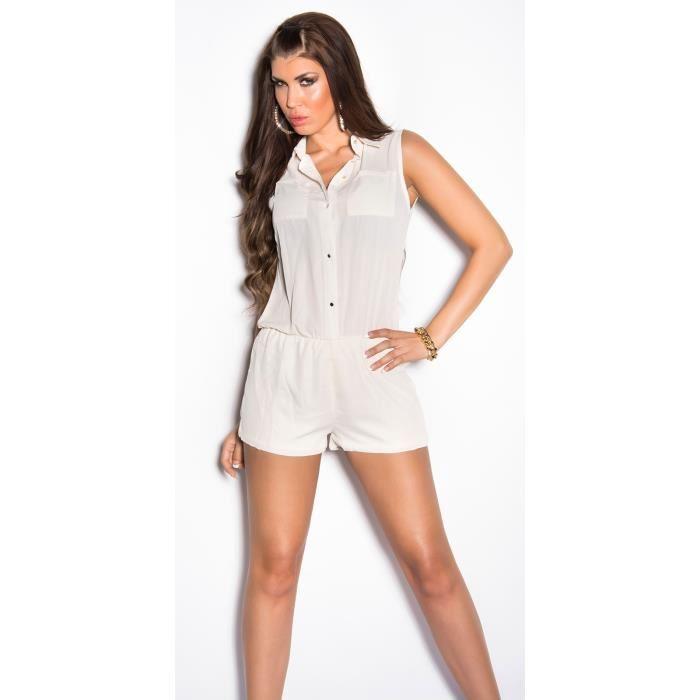 Short long habillé femme