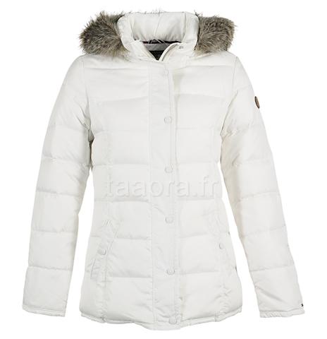 Doudoune ski blanche