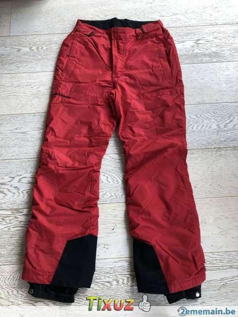 Poids d'un pantalon de ski