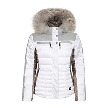 Manteau ski femme blanc