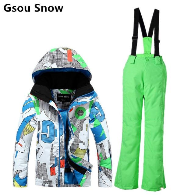 Pantalon de ski en 6 lettres