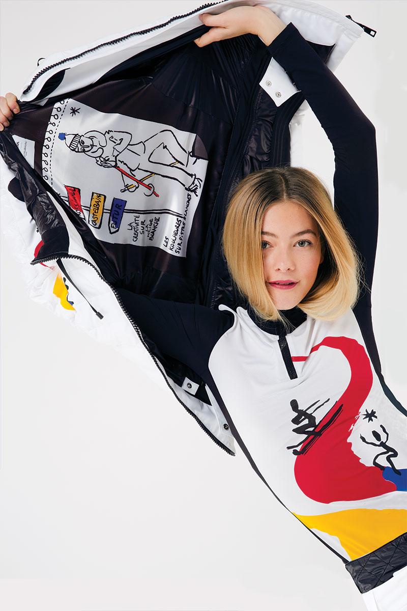 Pantalon de ski jc castelbajac