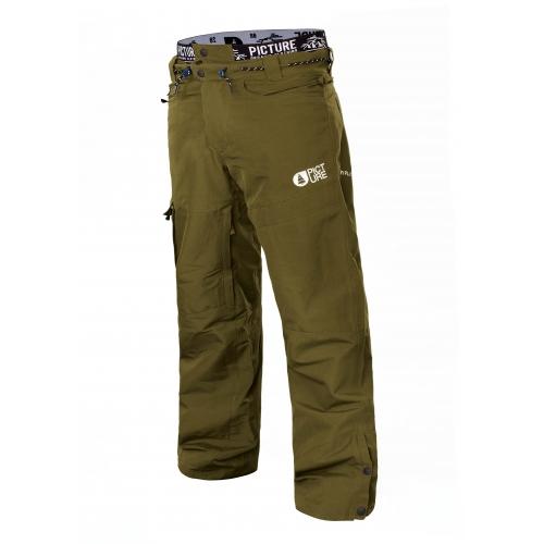 Pantalon de ski kaki