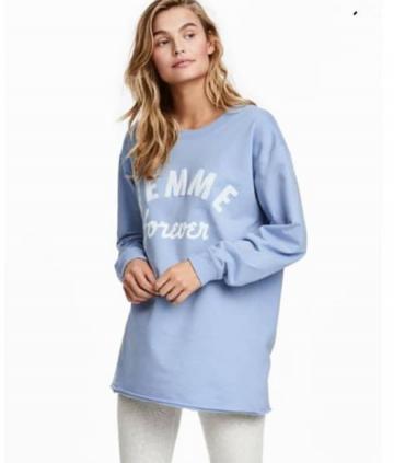 H&m sweat shirt femme