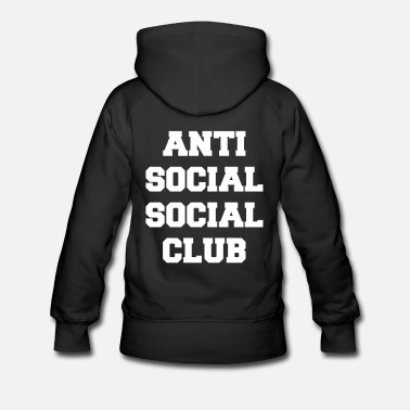 Anti social social club sweat femme