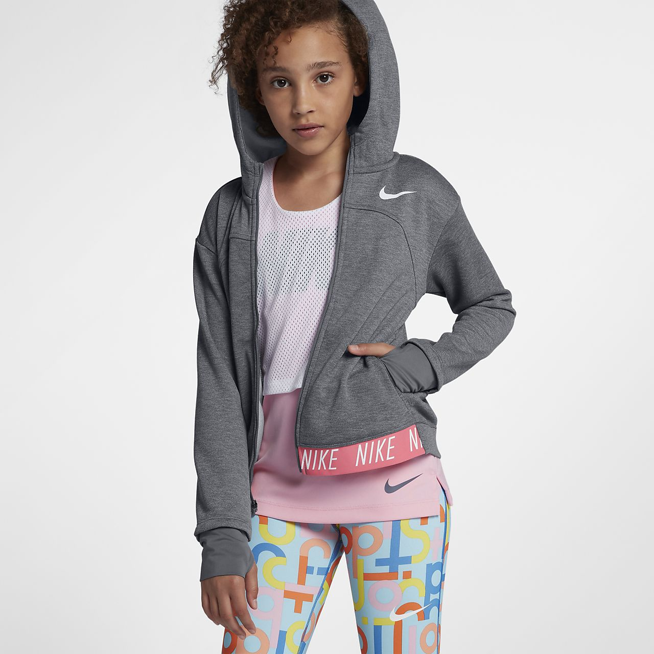Nike dry sweat à capuche de training pour femme
