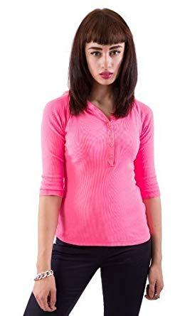 Sweat rose fluo femme