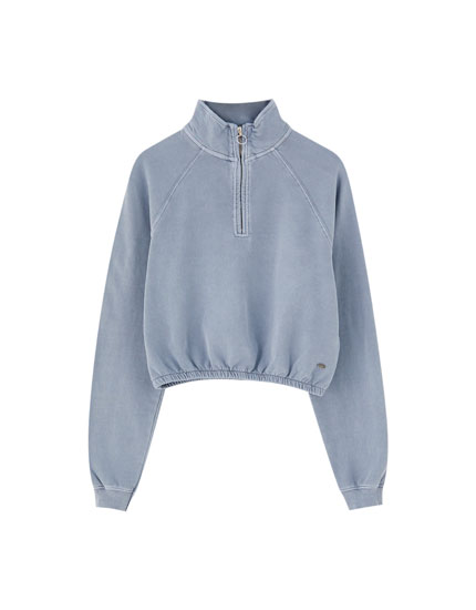 Pull and bear sweat a capuche femme