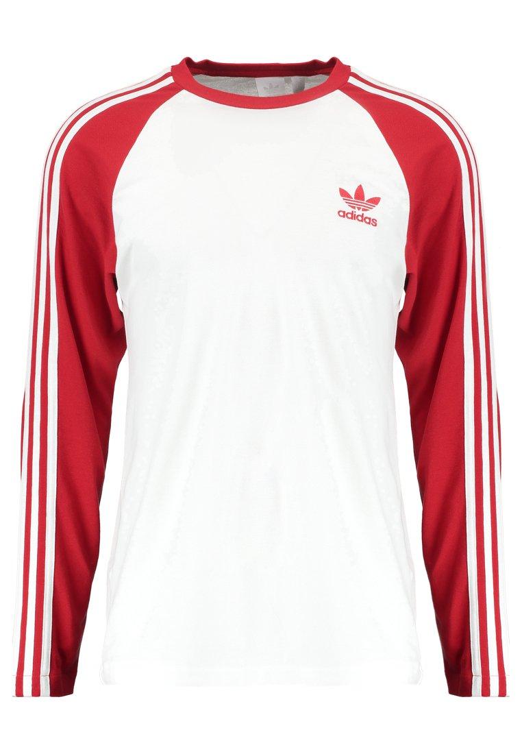 Sweat-shirt manches longues col rond imprimé femme adidas originals