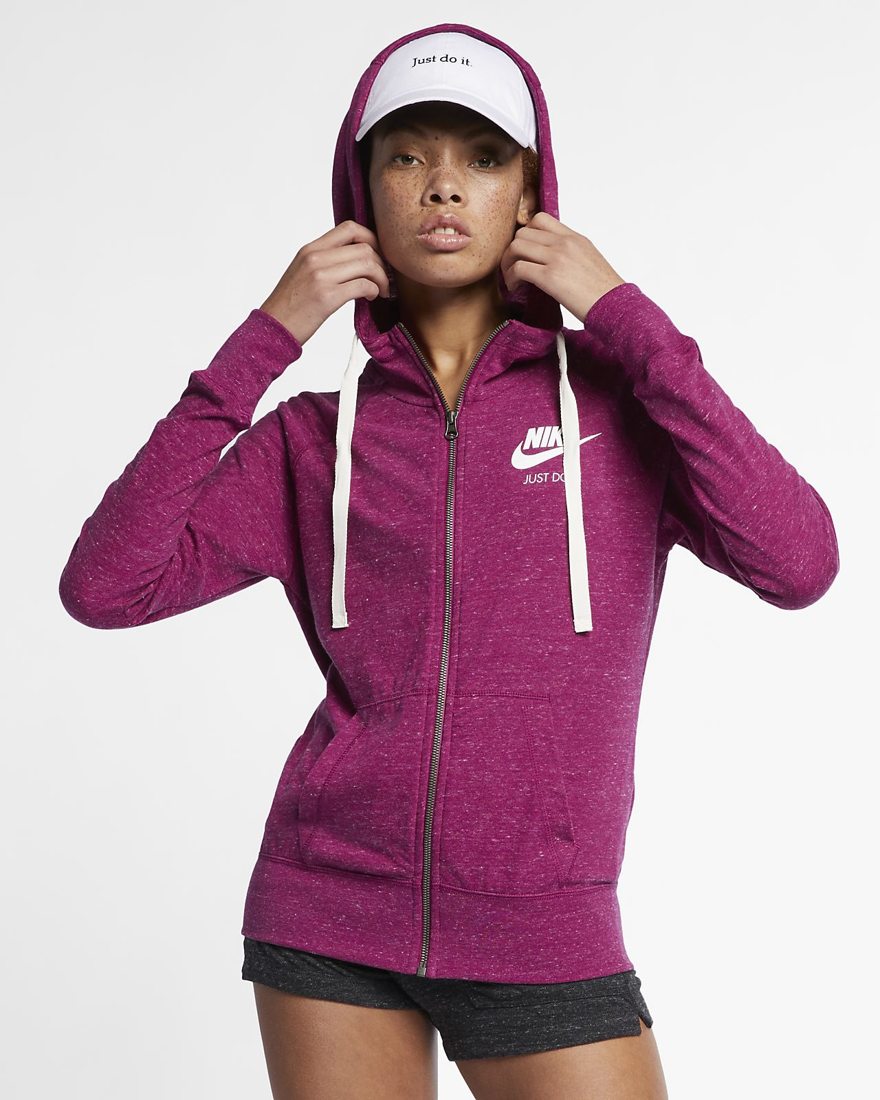 Sweat shirt femme sportswear fleece crew nike